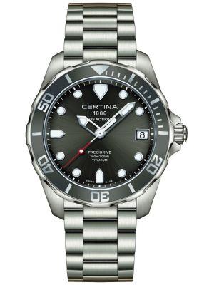 Mens Certina DS Action divers C0324104408100 Watch