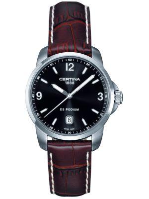 Mens Certina DS Podium classic stainless steel C0014101605700 Watch