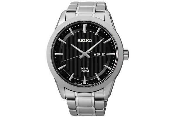 Mens Seiko Solar Watch SNE363P1