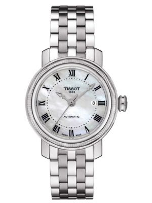 Womens Tissot Bridgeport classic stainless steel T097.007.11.113.00 Watch