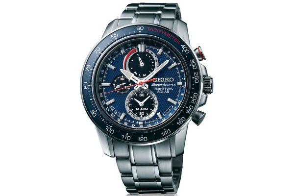 Mens Seiko Sportura Watch SSC355P1
