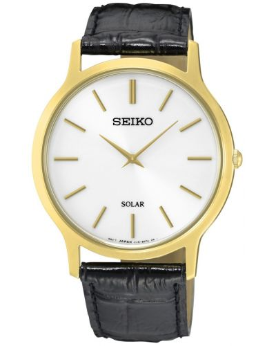 Mens Seiko Solar round  SUP872P1 Watch