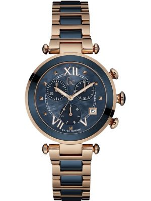 Womens GC Lady Chic rose gold designer chronograph Y05009M7 Watch