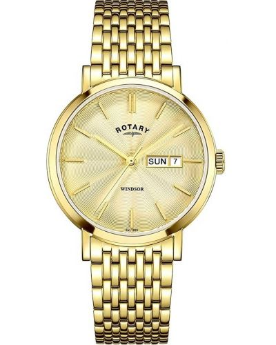 Mens Rotary Windsor polished GB05303/03 Watch