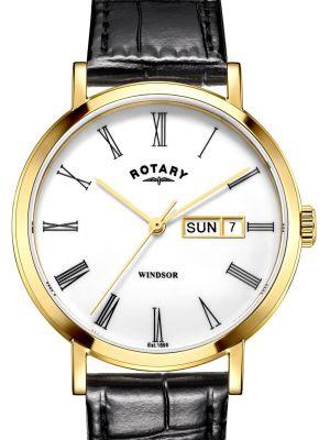 Mens Rotary Windsor classic quartz GS05303/01 Watch