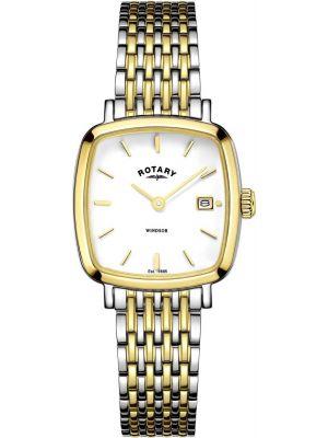 Womens Rotary Windsor quartz gold plated LB05306/01 Watch