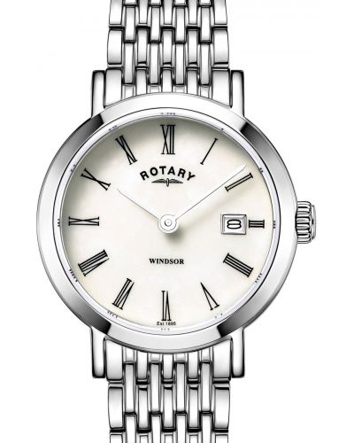 Womens Rotary Windsor stainless steel classic LB05300/07 Watch