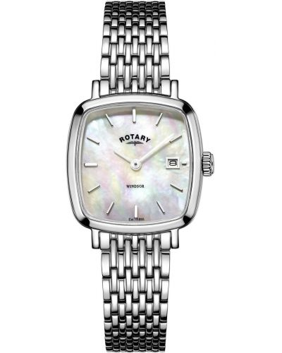 Womens Rotary Windsor mother of pearl LB05305/07 Watch