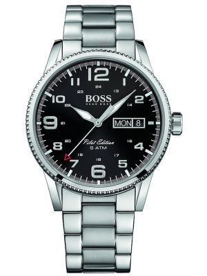 Mens Hugo Boss Pilot Edition classic 1513327 Watch