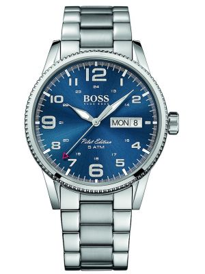 Mens Hugo Boss Pilot Edition Quartz 1513329 Watch