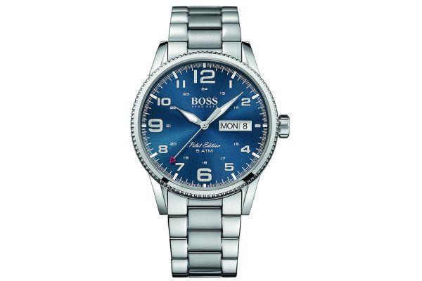 Mens Hugo Boss Pilot Edition Watch 1513329
