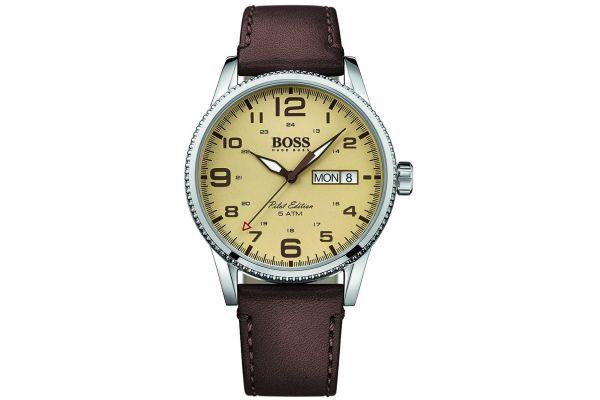 Mens Hugo Boss Pilot Edition Watch 1513332