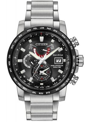 Mens Citizen World Time A-T atomic time keeping AT9071-58E Watch