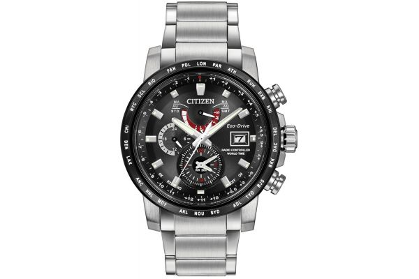 Mens Citizen World Time A-T Watch AT9071-58E