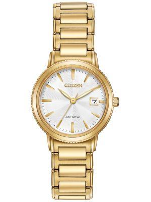 Womens Citizen Silhouette gold plated EW2372-51A Watch