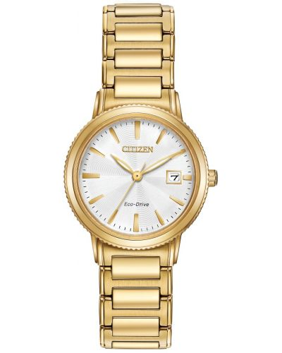 Womens Citizen Silhouette gold plated EW2372-51A Watch