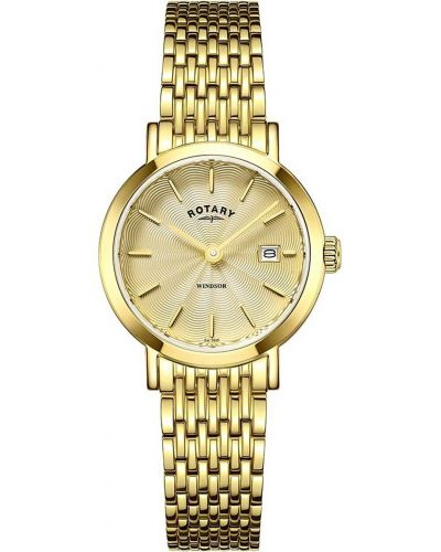 Womens Rotary Windsor gold plated pvd LB05303/03 Watch