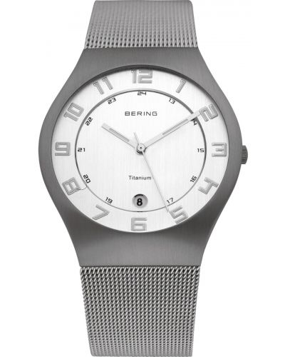 Mens Bering Titanium milanese styled 11937-000 Watch