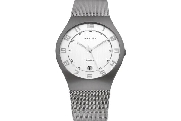 Mens Bering Titanium Watch 11937-000
