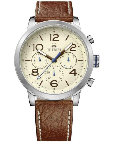 Mens Tommy Hilfiger Jake crocodile leather strap 1791230 Watch