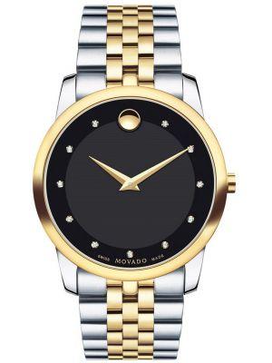 Mens Movado Museum swiss made 606879 Watch