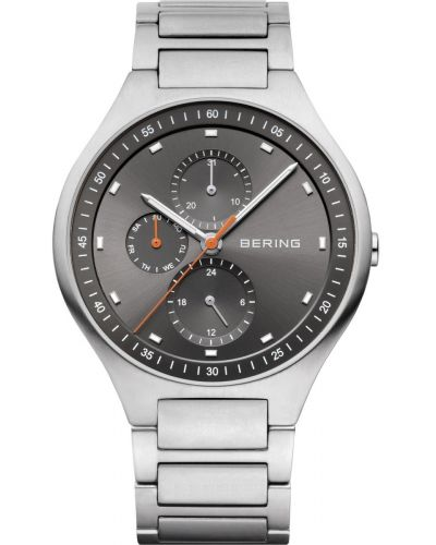 Mens Bering Titanium multi functioned quartz 11741-702 Watch