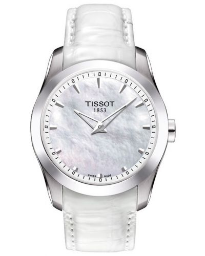 Womens Tissot Couturier stainless steel T035.246.16.111.00 Watch