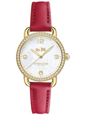 Womens Coach Delancey gold plated 14502452 Watch