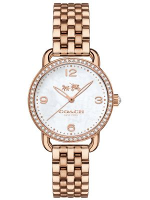 Womens Coach Delancey textured dial 14502479 Watch