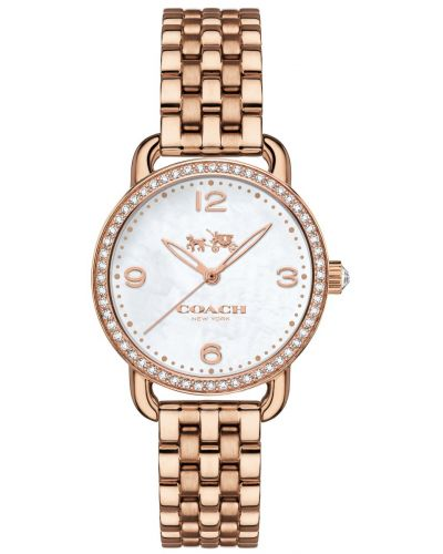 Womens Coach Delancey textured dial 14502479 Watch