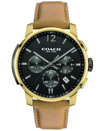 Mens Coach Bleecker classic 14602016 Watch