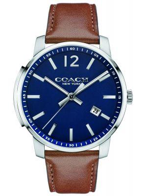Mens Coach Bleecker brown leather 14602004 Watch