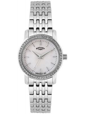 Rotary Sloane crystal set LB02460/07 Watch