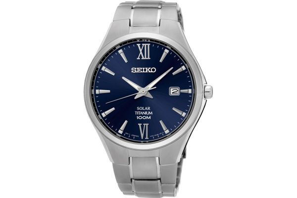 Mens Seiko Solar Watch SNE407P1