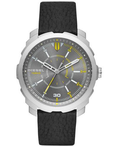 Mens Diesel Machinus yellow highlighted DZ1739 Watch