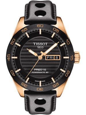 Mens Tissot PRS516 rose gold T100.430.36.051.00 Watch