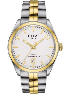 Mens Tissot PR100 automatic gold T101.407.22.031.00 Watch