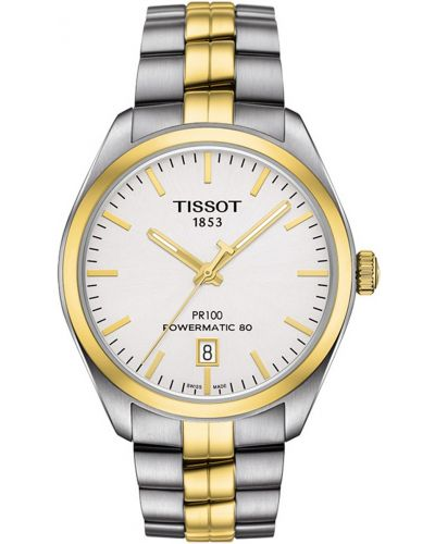 Mens Tissot PR100 automatic gold T101.407.22.031.00 Watch