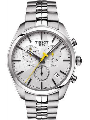 Mens Tissot PR100 swiss quartz T101.417.11.031.01 Watch