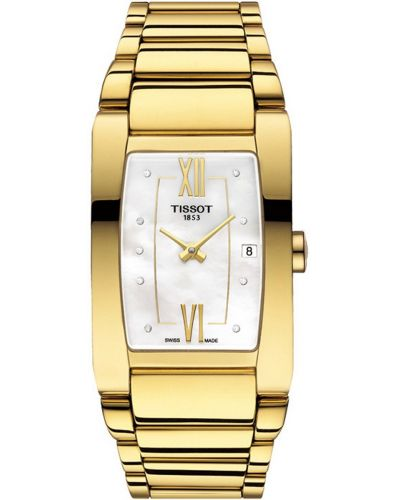 Womens Tissot Generosi T rectangular T105.309.33.116.00 Watch