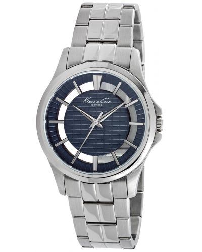 Mens Kenneth Cole Transparent stainless steel KC10022290 Watch