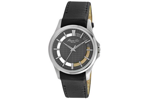 Mens Kenneth Cole Transparent Watch KC10022286
