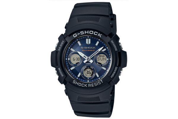Mens Casio G Shock Watch AWG-M100SB-2AER