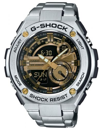 Mens Casio G Shock shock resistant GST-210D-9AER Watch