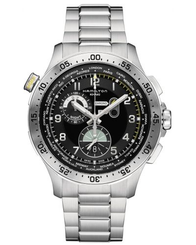 Mens Hamilton Khaki Aviation pilots H76714135 Watch