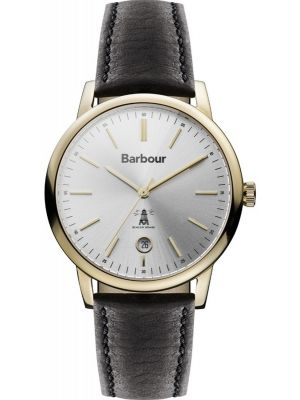 Mens Barbour Seaton classically styled BB041SLBK Watch