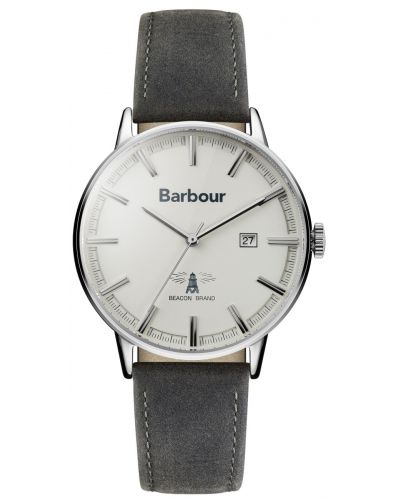 Mens Barbour Whitburn silver BB043WHGY Watch