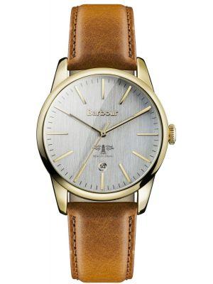 Mens Barbour Leighton quartz BB049GDBR Watch