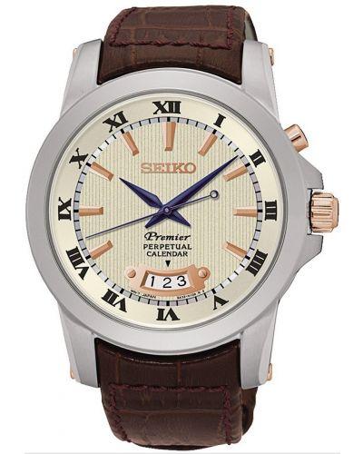 Mens Seiko Premier classically styled quartz SNQ150P1 Watch