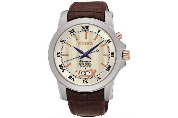 Mens Seiko Premier Watch SNQ150P1